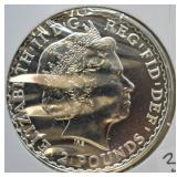 2013 Britania One Ounce Silver Coin