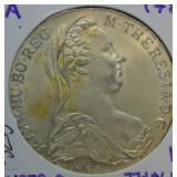 1780 Austria Maria Thaler