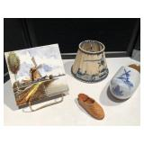 Delft Hand Painted Shoe/Tile and more