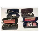 Antique Eye Glasses & Cases