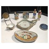 Collection of Asian Theme Pieces & Rye Pottery