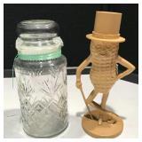 Mr. Peanut Bank and Jar