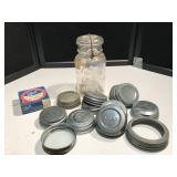 Opalescent Color Ball Jar, Lids and more