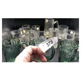 Collection of Juice Glasses & More