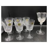 Six French Crystal Stemware and more