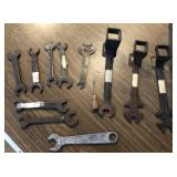 Collection of Vintage Open End Wrenches and more