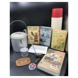 Camping and Boyscout/Girlscout Books and more