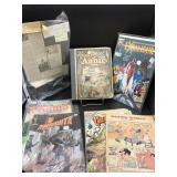 Vintage Comic Books, Annie Book & Newspaper