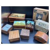 Vintage Wooden Boxes