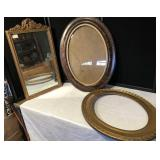 Vintage Mirror and Frames
