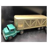 Vintage Structo Cattle Farm Truck and Livestock Tr