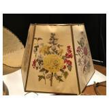 Vintage Lamp Shades and parts