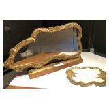 Victorian Mirror & Vanity Tray