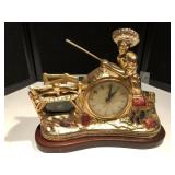 Lighted Mantle Clock