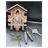 Vintage Schatz German Cuckoo Clock