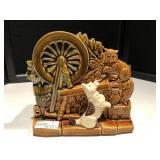 McCoy Spinning Wheel w/Scottie Dog