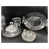 Collection of Pressed Glass