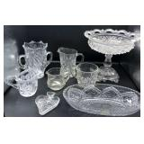 Pressed & Cut Glass Collection