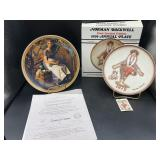 2 Norman Rockwell Collector Plates