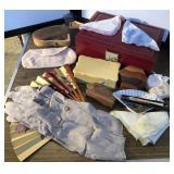 Vintage Ladies Apparel, Jewelry Box, Jewelry …
