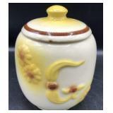 Vintage Hull Floral Grease Jar