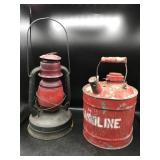 Little Wizard Dietz Traffic Lantern & Gas Can
