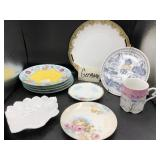Collection of Vintage Plates from Germany & More