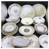 Vintage/Antique Plates, Saucers & Bowls