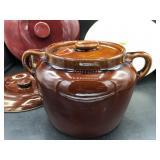 McCoy Mug, Bean Pot, and lids