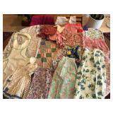 Vintage Aprons, Bonnets & Poncho