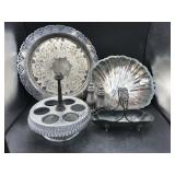 Collection of Silverplated Table Décor