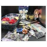 Collection of Sewing & Craft Items & More