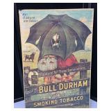 "Vintage ""Bull"" Durham Smoking Tobacco Artwork"