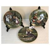 Keiser Collectible Plates - 3 plates