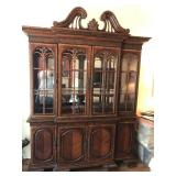 Chippendale China Cabinet w/buffet