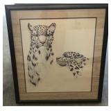 "Diane Coleman ""Snow Leopard"" Signed"