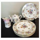 "Noritake ""Miss Mae"" Dinner Plates, Teapot & More"