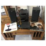 Sony Stero System with Speakers and remote