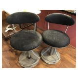 Pair of Hydraulic Chairs