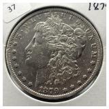 1879 MORGAN DOLLAR  VF