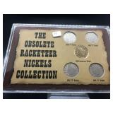 OBSOLETE NICKELS COLLECTION