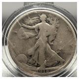 1918 WALKING HALF DOLLAR