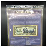 NEW YORK TWO DOLLAR BILL GEM