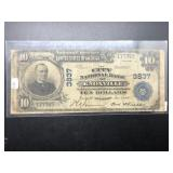 1902 CITY NB OF KNOXVILLE TN 10$ NATIONAL CURRENCY