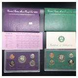TWO PROOF SETS 1992 1994