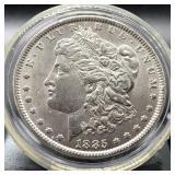 1885 MORGAN DOLLAR CHOICE BU