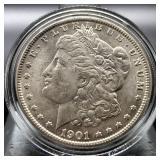 1901 O MORGAN DOLLAR  CHOICE BU