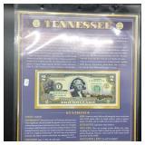 TENNESSEE 2 $ BILL GEM