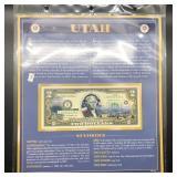 UTAH  2 $ BILL GEM