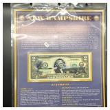 NEW HAMPSHIRE  2 $ BILL   GEM